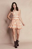 Mia Paneled Mini Dress - AETERNA STYLE  - 3