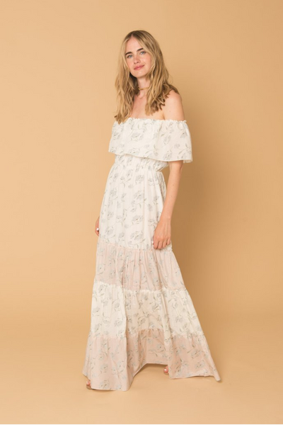 Athena Procopiou | Romance in the wind maxi dress | AETERNASTYLE.COM
