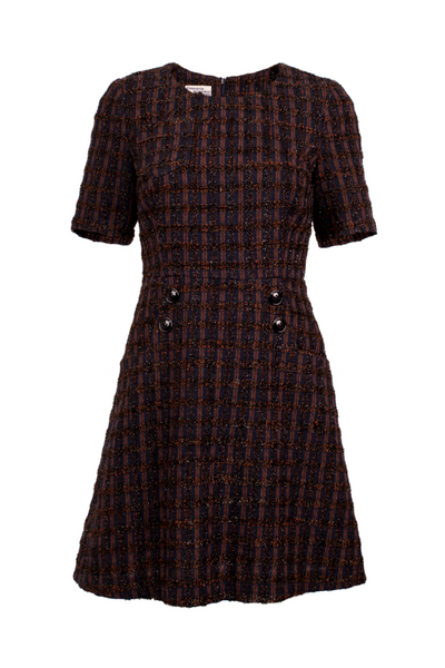 Baum und Pferdgarten SALE | Abriel Tweed Shift Dress | AETERNA STYLE