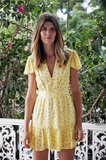 Paddo to Palmy | Seville Yellow Dress | AETERNASTYLE.COM