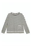 Intropia | Striped and oversized cotton sweatshirt | AETERNASTYLE.COM