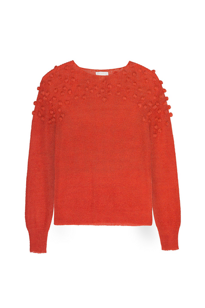 Intropia | Embossed motifs knit sweater | AETERNASTYLE.COM