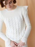 Intropia | Knitted and flounced doily sweater | AETERNASTYLE.COM
