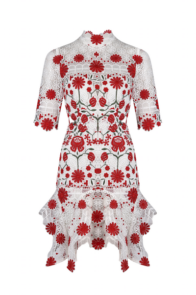 THURLEY | English Rose Dress | AETERNASTYLE.COM