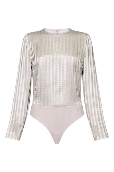 Atoir UK Stockist | Hand it Over Metallic Bodysuit | AETERNASTYLE.COM