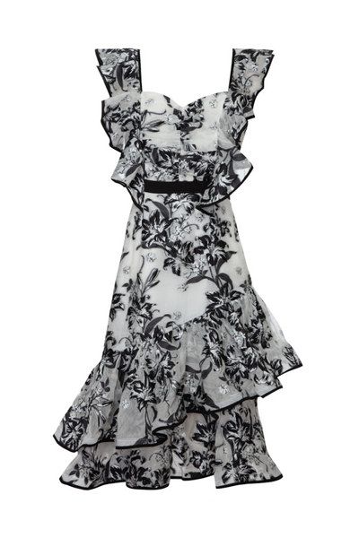 Atoir UK Stockist | Unforgettable Minds Ruffle Dress | AETERNASTYLE.COM