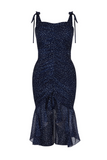 Finders Keepers UK Stockists | Locales Navy Dress | AETERNA STYLE