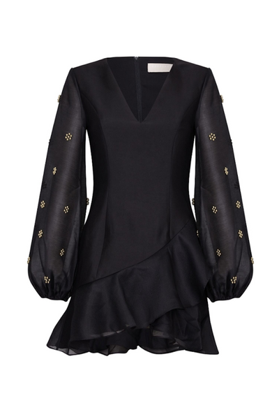 Star Light Long Sleeve Dress