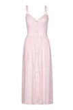 Valencia Dress -  Dusty Pink Daisy