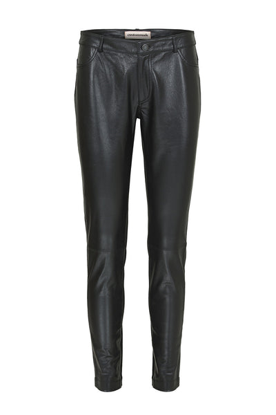 Custommade DK | Black Leather Pants | AETERNASTYLE.COM