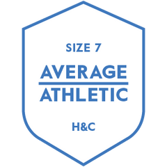 The Hugh & Crye Average Athletic Size