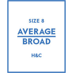 The Hugh & Crye Average Broad Size