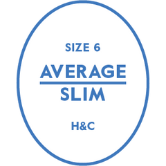 The Hugh & Crye Average Slim Size