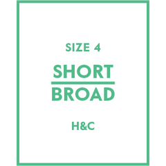 The Hugh & Crye Short Broad Size