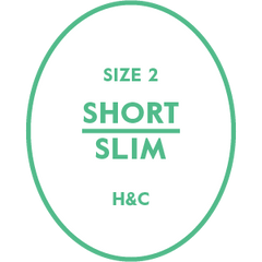 The Hugh & Crye Short Slim Size