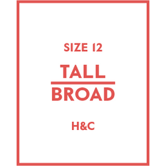 The Hugh & Crye Tall Broad Size