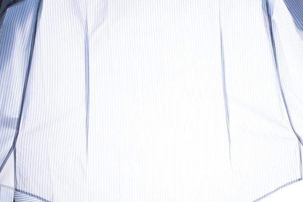 Back darts on a dress shirt