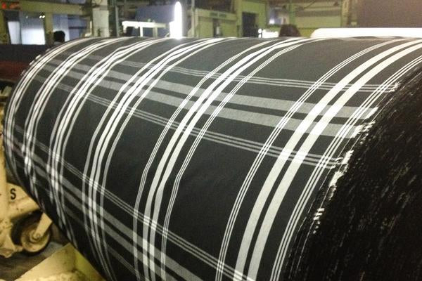 Fabric Mill Production Roll
