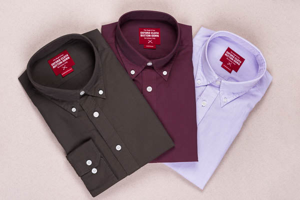 Hugh & Crye oxford weave shirts