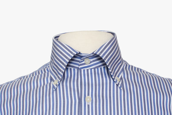 Rolled Button-down Collar