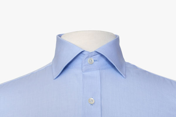 Guide to dress shirt collars hugh crye for What is a spread collar shirt