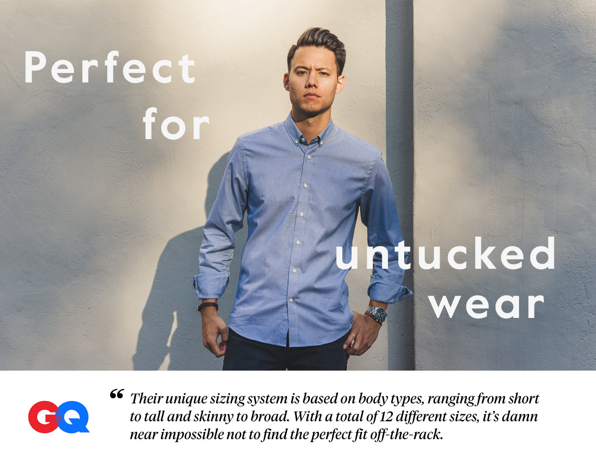 shirts for untucking