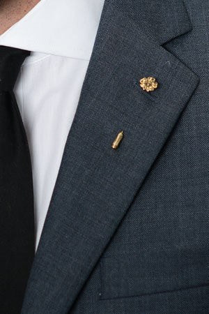 Anemone Lapel Pin – Hugh & Crye - 1