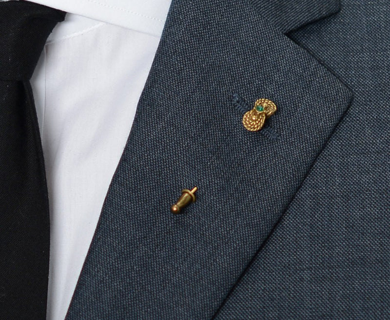 Bahia Lapel Pin – Hugh & Crye - 3