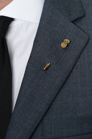 Bahia Lapel Pin – Hugh & Crye - 1