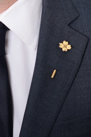Clover Lapel Pin – Hugh & Crye