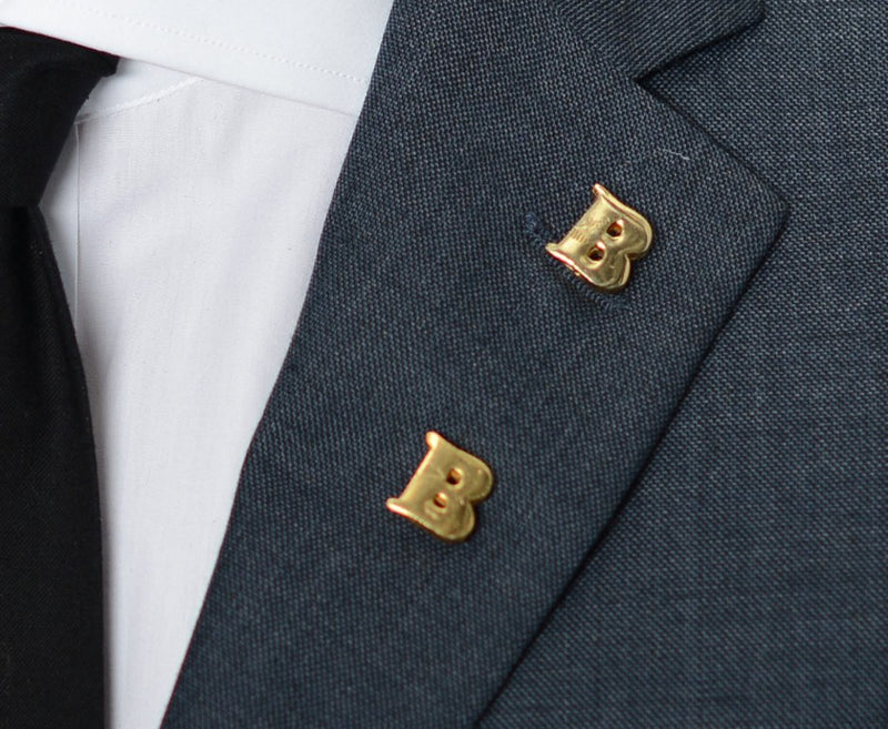 Double 'B' Lapel Pin – Hugh & Crye - 3