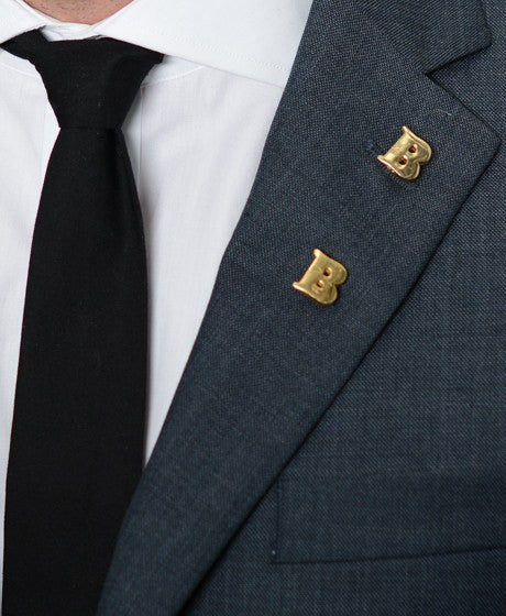 Double 'B' Lapel Pin – Hugh & Crye - 2