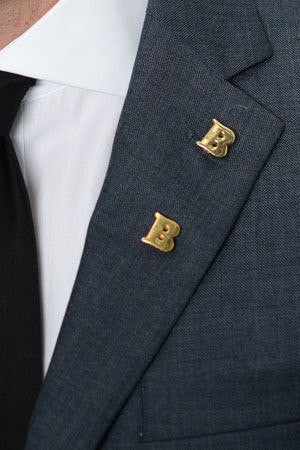Double 'B' Lapel Pin – Hugh & Crye - 1