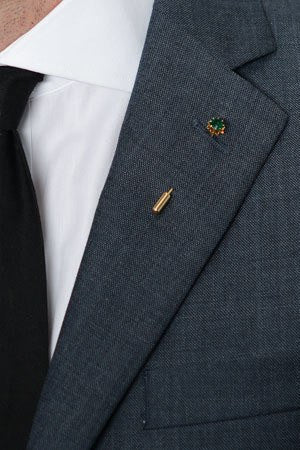 Emerald Lapel Pin – Hugh & Crye