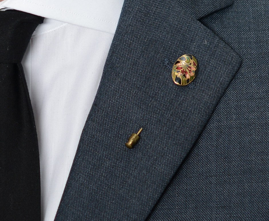 Floral Lapel Pin – Hugh & Crye - 3