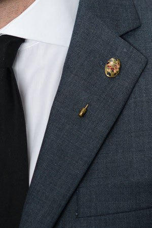 Floral Lapel Pin – Hugh & Crye - 1