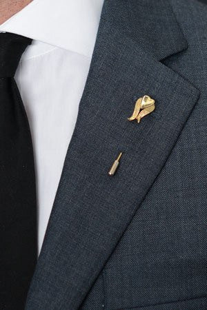 Goldi Lapel Pin – Hugh & Crye