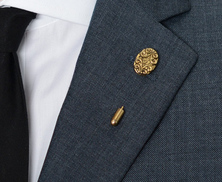 Gold Shield Lapel Pin – Hugh & Crye - 3