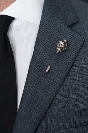 Kasota Lapel Pin – Hugh & Crye - 1