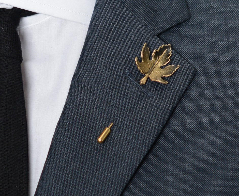 Maple Leaf Lapel Pin – Hugh & Crye - 3