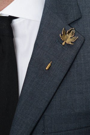 Maple Leaf Lapel Pin – Hugh & Crye - 1