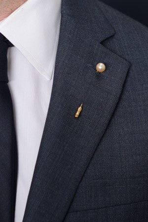 Pearl Lapel Pin – Hugh & Crye