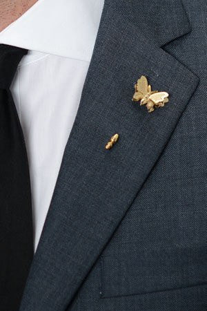 Paplio Lapel Pin – Hugh & Crye - 1