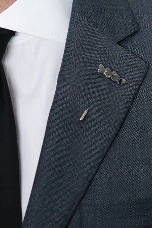 Rabble Lapel Pin – Hugh & Crye - 1