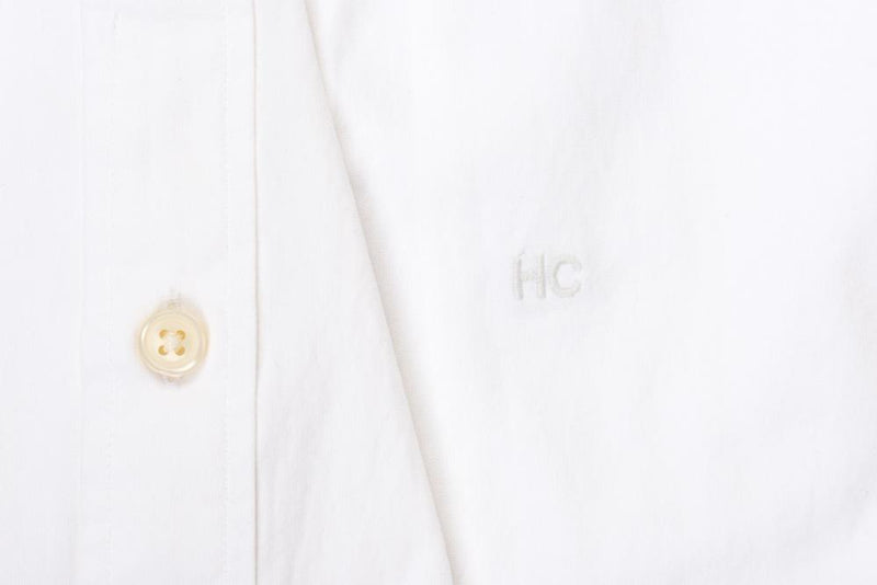 Silo White Oxford Cloth Button-Down Shirt Monogram
