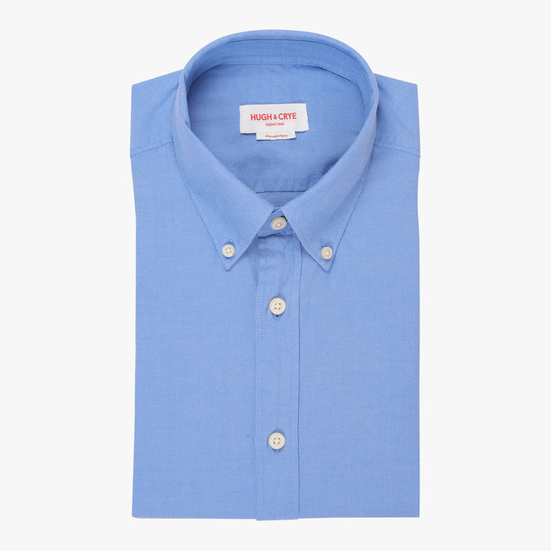 Silo Blue Oxford Cloth Button-Down Shirt