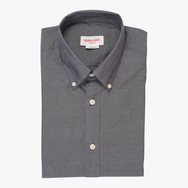Silo Charcoal Oxford Cloth Button-Down Shirt