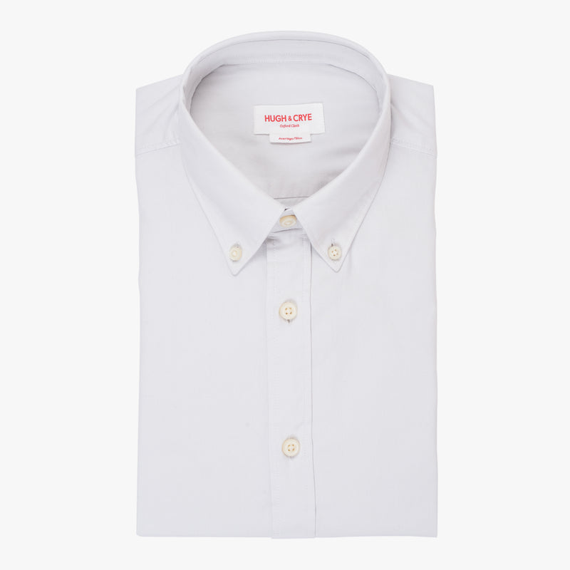 Silo Light Gray Oxford Button-Down Shirt