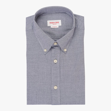 Silo Light Indigo Chambray Oxford Button-Down Shirt