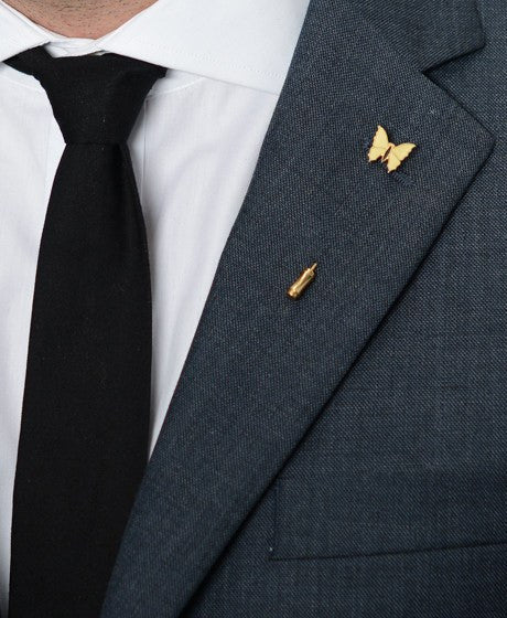 Swallow Lapel Pin – Hugh & Crye - 2